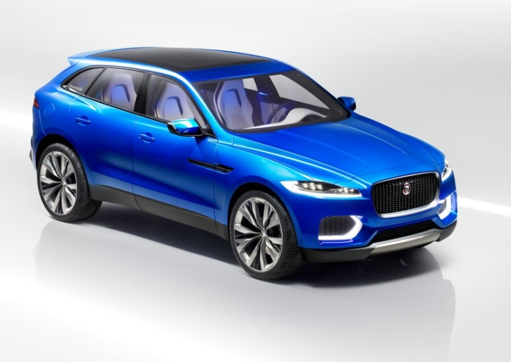 Jaguar not to step on Land Rover's shoes with C-X17 crossover