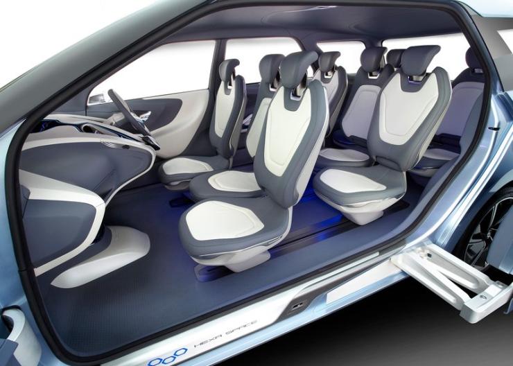Hyundai Hexa Space MPV Concept 6