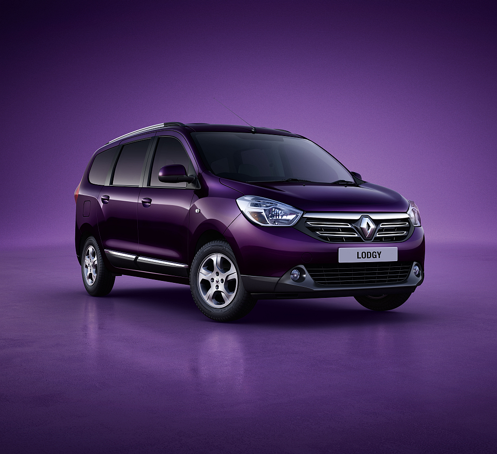 India-spec Renault Lodgy MPV – First Official Image Released