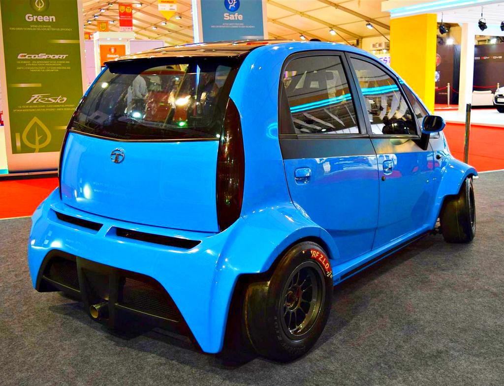 JA Motorsports' Tata Super Nano Hatchback Car Is A 230 Bhp