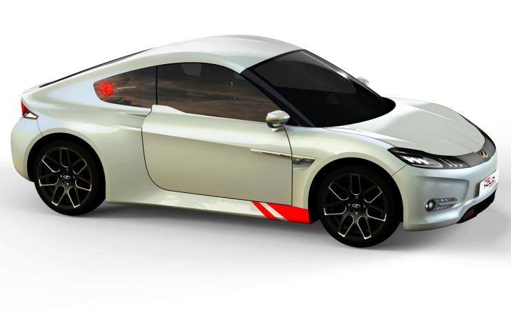 Mahindra Reva Halo Electric Sportscar
