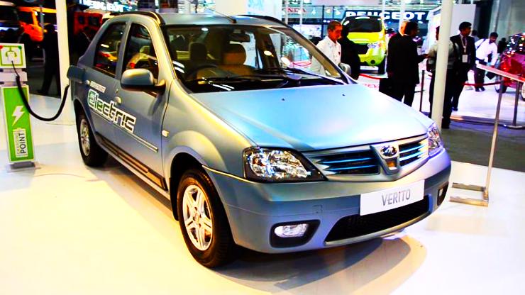 Mahindra Reva Verito Electric Sedan Pic
