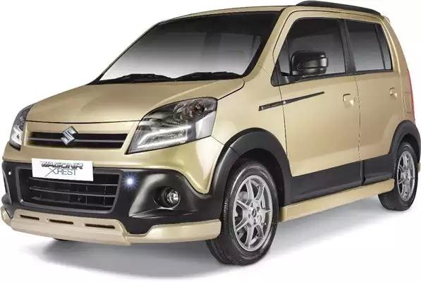Maruti Suzuki WagonR Xrest hatchback spotted in India