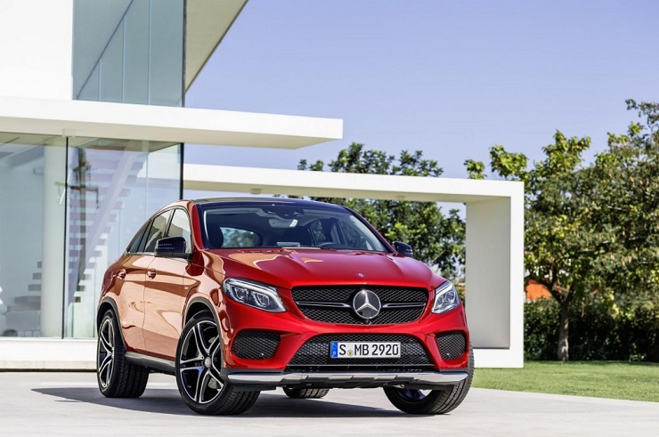 Mercedes Benz GLE Coupe to challenge the BMW X6; India launch in 2015