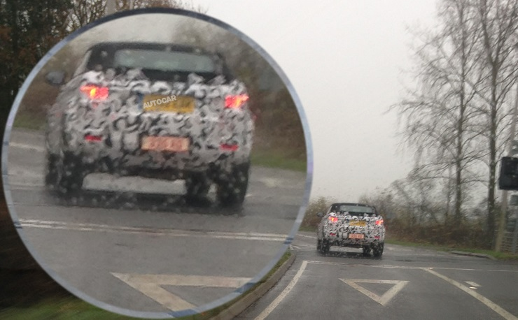 Range Rover Evoque Cabriolet starts testing in the United Kingdom