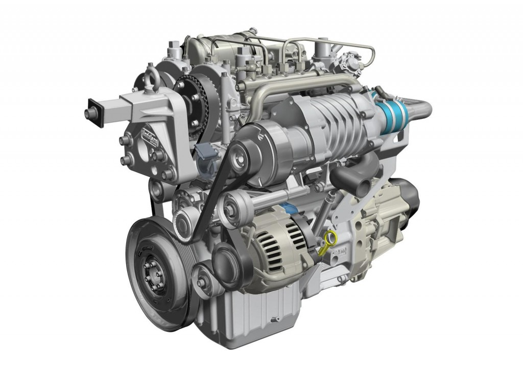 Renault 1 Liter-3 cylinder Turbocharged Petrol-LPG engine pic