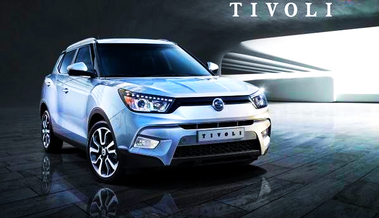 2015 Ssangyong Tivoli Compact SUV Revealed