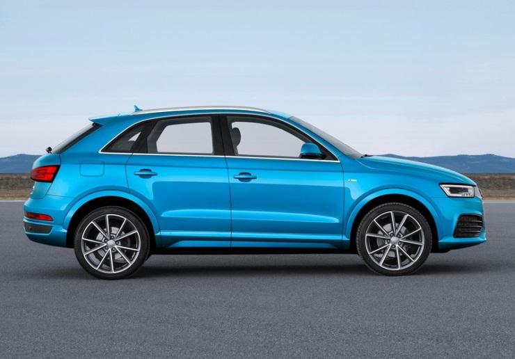 2015 Audi Q3 Facelift Profile