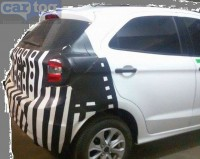 2015 Ford Figo Hatchback Spyshot Rear
