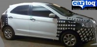 2015 Ford Figo Hatchback Spyshot Profile