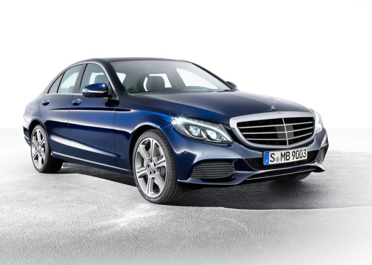 2015 Mercedes Benz C-Class Sedan Front