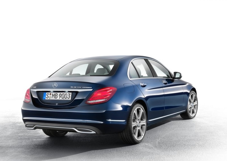 2015 Mercedes Benz C-Class Sedan Rear