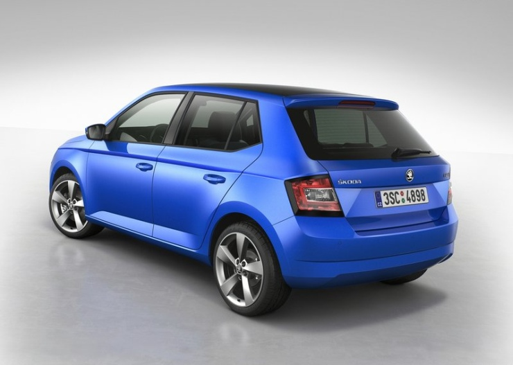 2015 Skoda Fabia Hatchback Rear