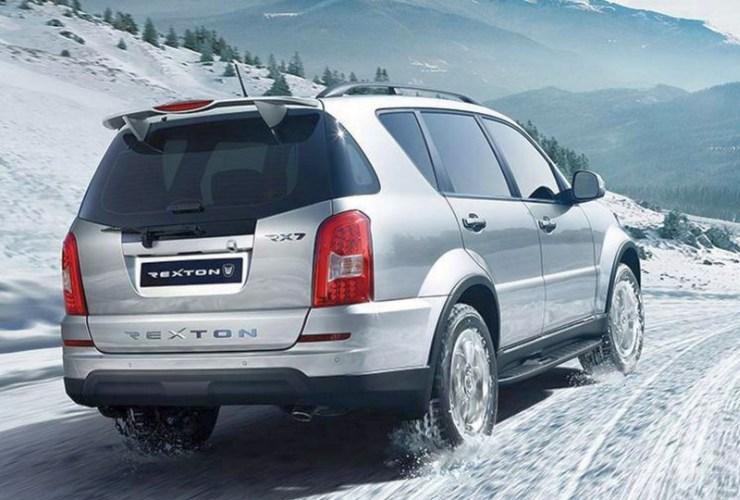 Ssangyong Rexton SUV Facelift Rear