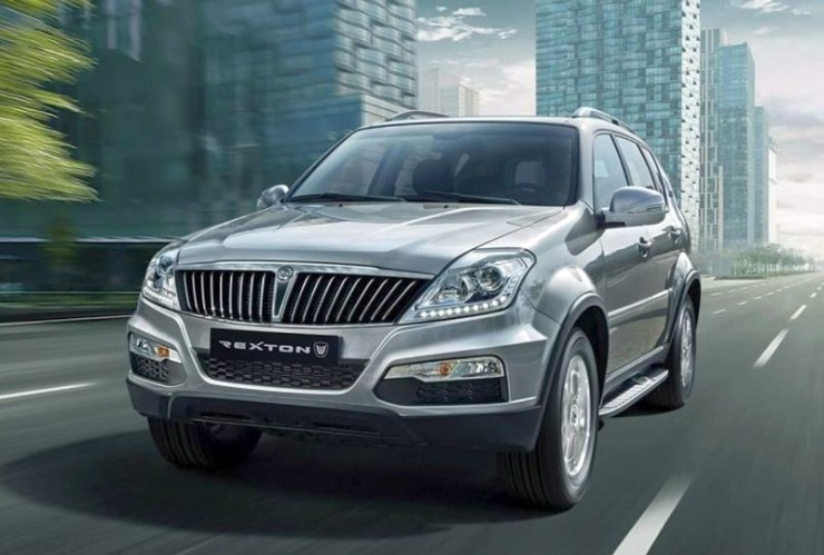 Ssangyong Rexton SUV Facelift Front