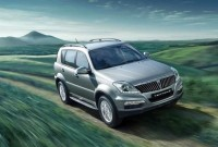 Ssangyong Rexton SUV Facelift