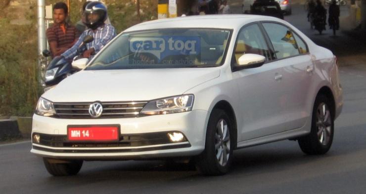 2015 Volkswagen Jetta Facelift Spyshot