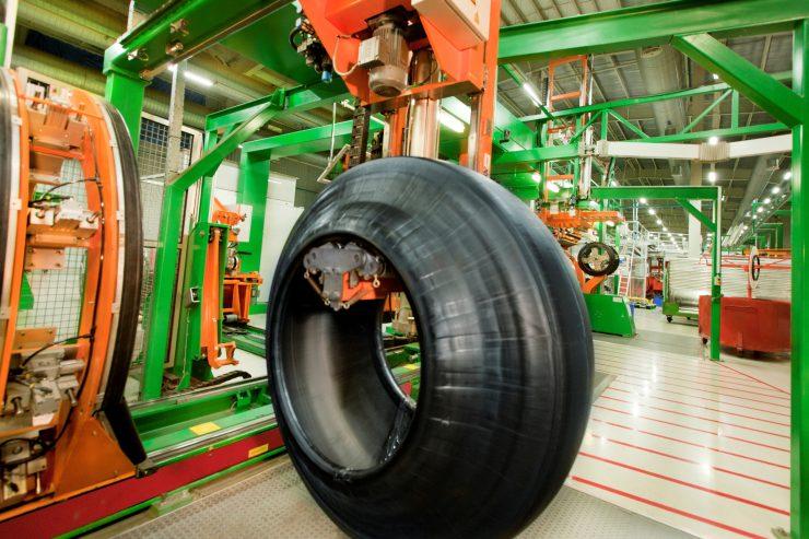 Apollo Tyre Factory