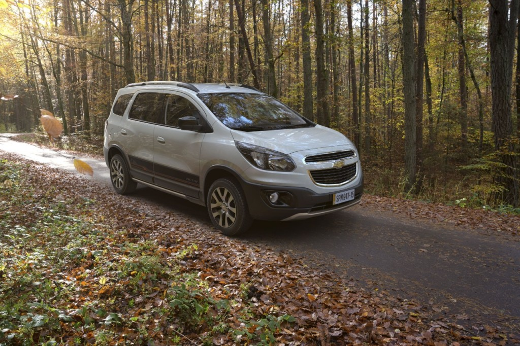 General Motors Fast-Tracks Chevrolet Spin MPV's India Launch