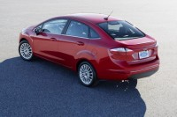 Ford Fiesta Sedan Facelift Rear