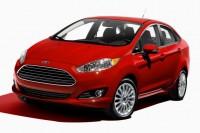 Ford Fiesta Sedan Facelift Studio Shot