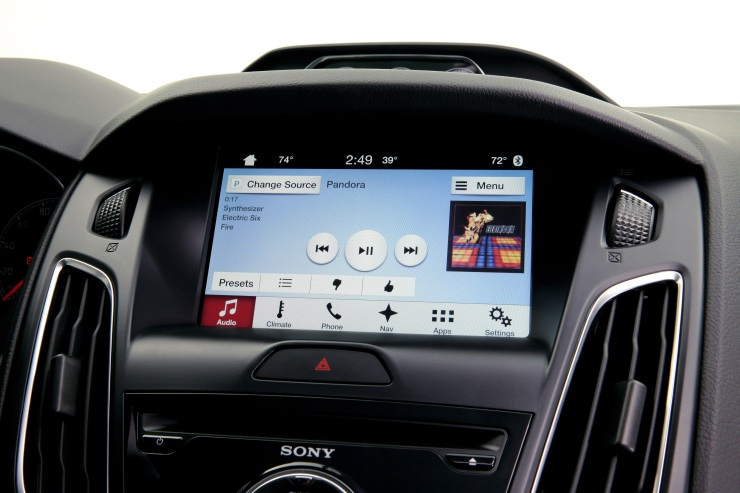Ford SYNC3 Infotainment Interface