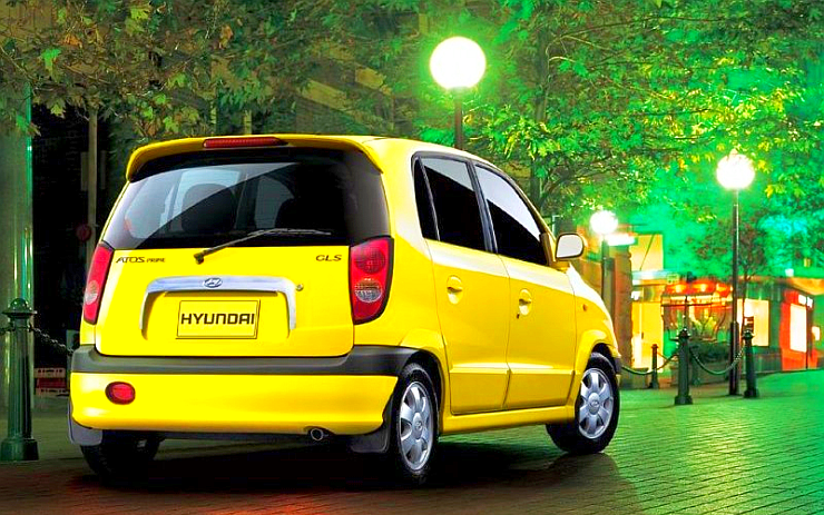 Hyundai Santro Rear