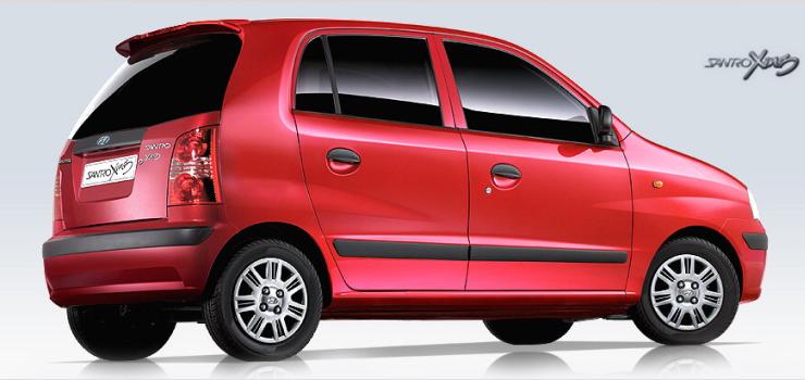 Hyundai Santro Xing Rear