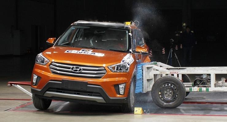Hyundai iX25 Compact SUV in C-NCAP Crash Safety Test 2