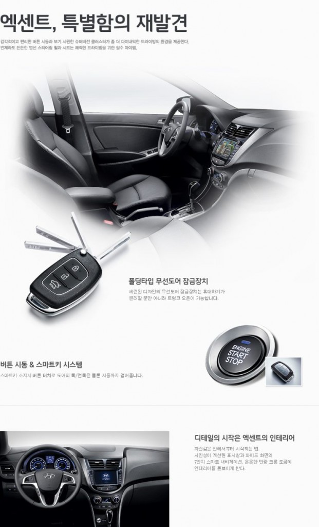 Korea-spec Hyundai Verna with 7 Speed Dual Clutch Automatic Gearbox