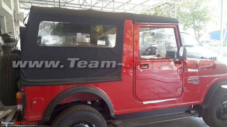 Mahindra Thar SUV Facelift