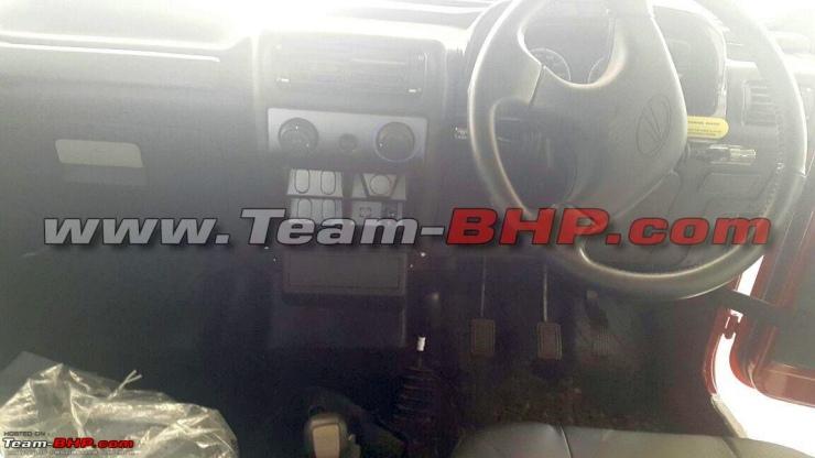 Mahindra Thar SUV Facelift Dashboard