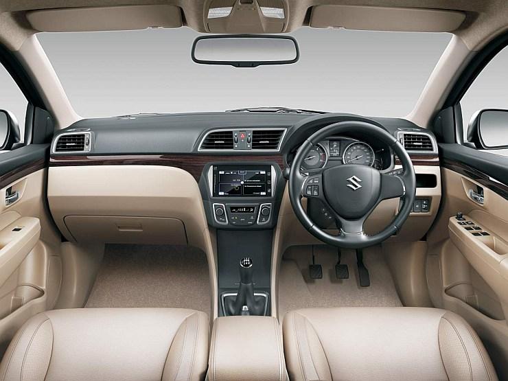 Maruti Suzuki Ciaz Dashboard