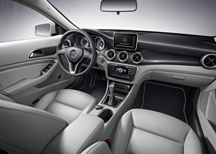 Mercedes Benz CLA Sedan Interiors