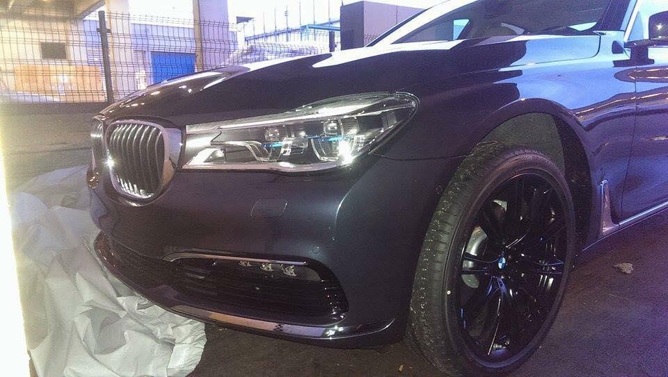 India-bound 2016 BMW 7-Series Luxury Saloon Unmasked