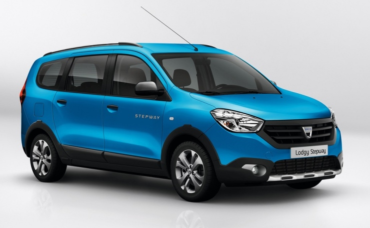 Renault Lodgy Stepway Front
