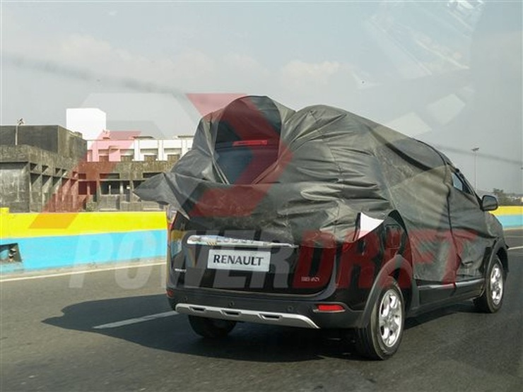 Renault Lodgy Stepway Spyshot