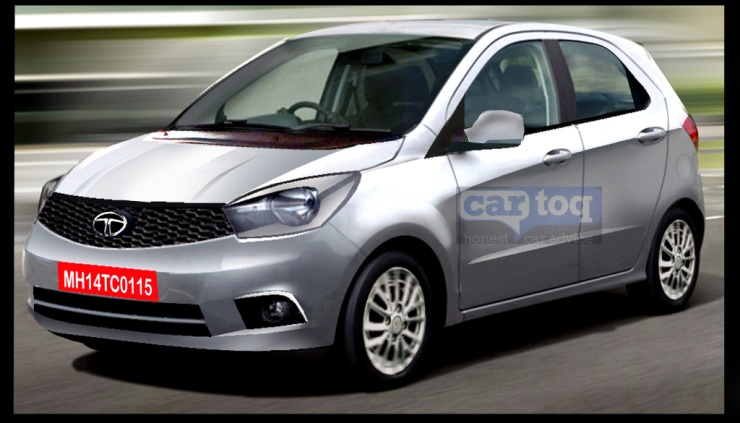 Tata Kite Hatchback Render Front