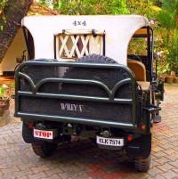 1967 Willy's CJ3A Jeep Rear