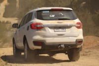 2015 Ford Endeavour SUV Off Roading Rear
