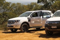 2015 Ford Endeavour SUV Off Roading Stationary