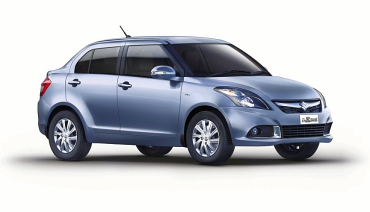 2015 Maruti Suzuki Dzire Front Three Quarters