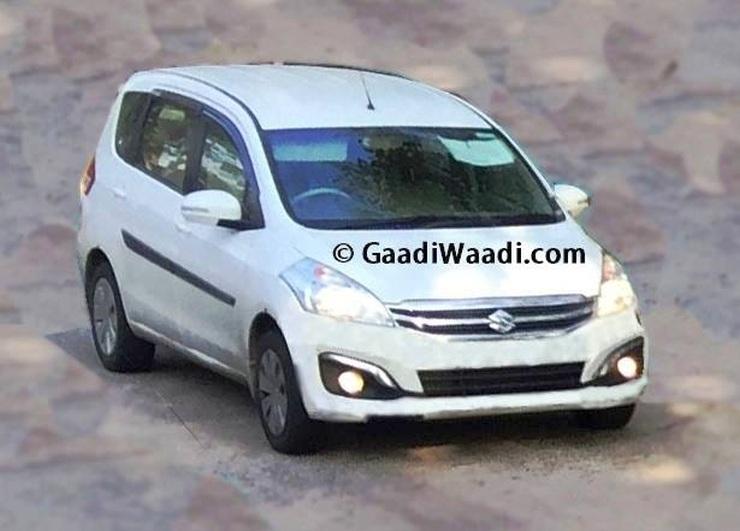 2015 Maruti Suzuki Ertiga MPV Facelift Spyshot
