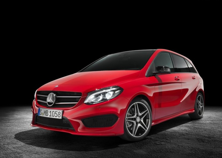 2015 Mercedes Benz B-Class Hatchback Facelift