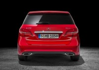 2015 Mercedes Benz B-Class Hatchback Facelift Rear