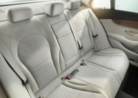 2015 Mercedes Benz C-Class Luxury Saloon Rear Seats