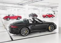 2015 Porsche 911 Targa through the times