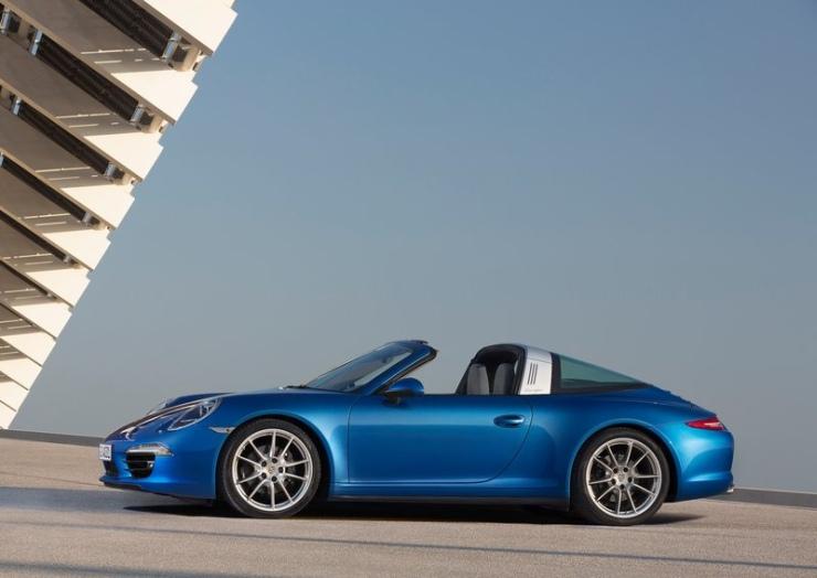 2015 Porsche 911 Targa Profile