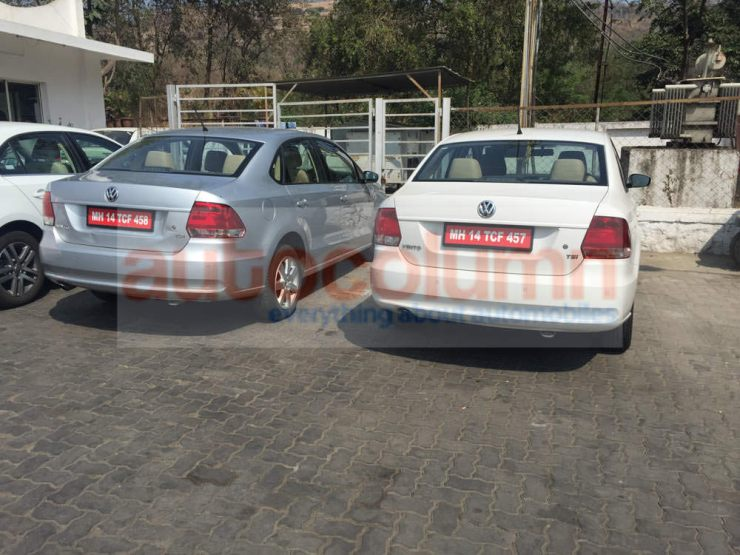 2015 Volkswagen Vento Sedan Facelift Rear