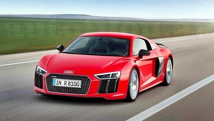 2016 Audi R8 Supercar Leaked Image